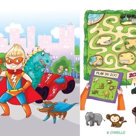 Divers pour bloc jeux aux éditions Magnard