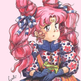 Chibi Usagi (Fan art de l'oeuvre de Naoko Takeuchi - Sailor Moon)