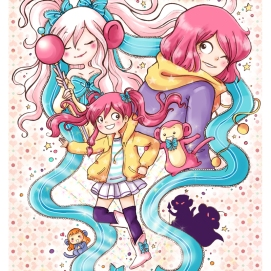 Projet Magical girl BD